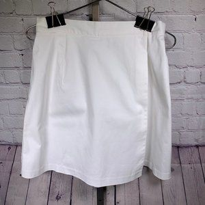 Briggs New York White Skort Size 12 NWT